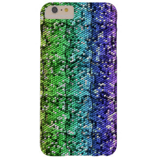 Mosaic Puzzle in gradient colors- customisable. Barely There iPhone 6 Plus Case