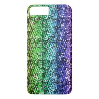 Mosaic Puzzle in gradient colors- customisable. iPhone 7 Plus Case