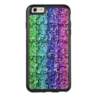 Mosaic Puzzle in gradient colors - customisable. OtterBox iPhone 6/6s Plus Case