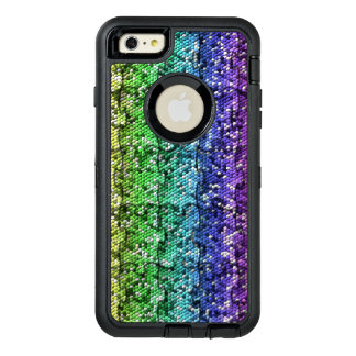 Mosaic Puzzle in gradient colors - customisable. OtterBox iPhone 6/6s Plus Case