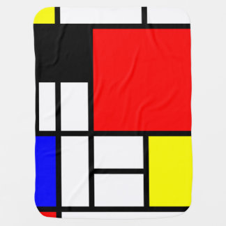 MOSAIC rectangles squares colored I + your ideas Baby Blanket