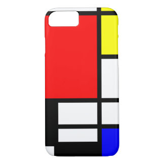 MOSAIC rectangles squares colored I + your ideas iPhone 7 Case
