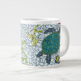 Mosaic Sea Turtles and Tropical Fish Mug