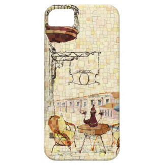 Mosaic Street Cafe iPhone 5/5S Cases
