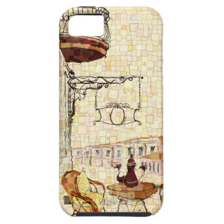 Mosaic Street Cafe iPhone 5 Case