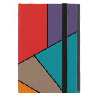 MOSAIC stripes triangles colored III + your ideas iPad Mini Cover