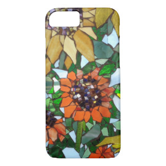 Mosaic Sunflowers iPhone 7 Case