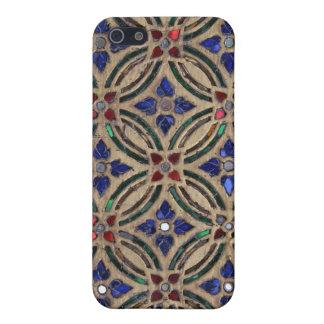 Mosaic tile pattern stone glass iPhone 4 case skin