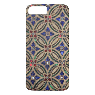 Mosaic tile pattern stone glass photo iPhone 7 cas iPhone 8 Plus/7 Plus Case