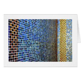 Mosaic Tiles Card