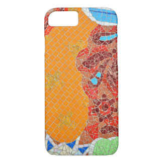 mosaic tiles faience broken pieces hone puzzle col iPhone 8/7 case