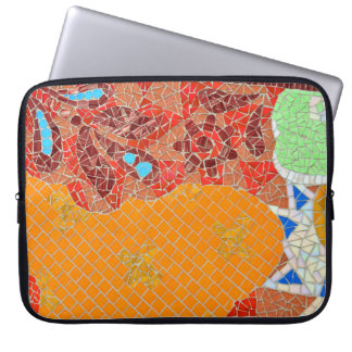 mosaic tiles faience broken pieces hone puzzle col laptop sleeve