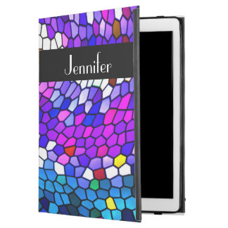 Mosaic Tiles Pattern Personalized iPad Pro Case