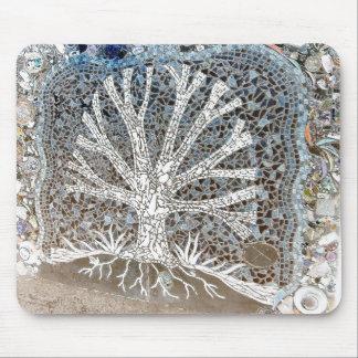 Mosaic Tree Mousepad