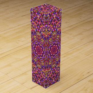 Mosaic Vintage Kaleidoscope  Wine Gift Box