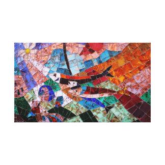 Mosaics of Morano Italy II Canvas Print