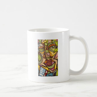 Mosaik face coffee mug