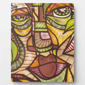 Mosaik face plaque