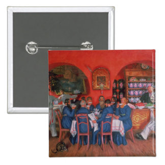 Moscow Cafe, 1916 2 Inch Square Button