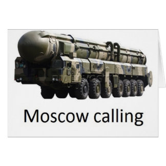 moscow calling topol card