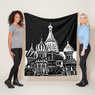 Moscow Fleece Blanket