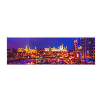Moscow Kremlin Panorama Canvas Print