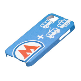 Moscow metro pass iPhone 5 cases