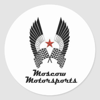 MOSCOW MOTORSPORTS CLASSIC ROUND STICKER