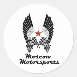 MOSCOW MOTORSPORTS ROUND STICKER