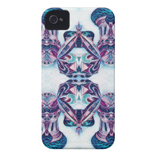 Moscow Painting Blue / Purple Case-Mate iPhone 4 Case