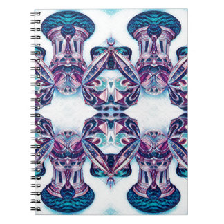 Moscow Painting Blue / Purple Notebook