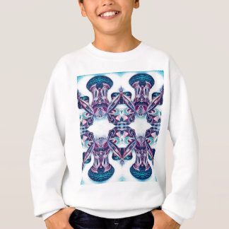 Moscow Painting Blue / Purple Sweatshirt