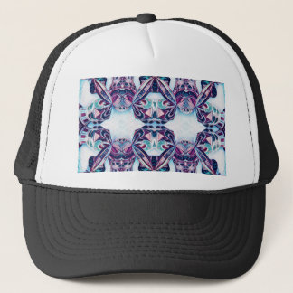 Moscow Painting Blue / Purple Trucker Hat