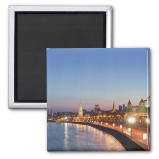 Moscow River at Dusk Magnet