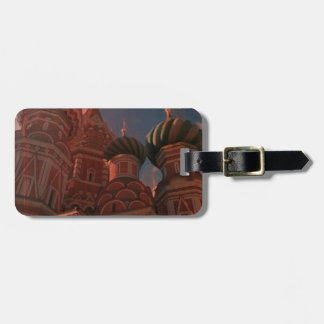 Moscow_russia Bag Tag