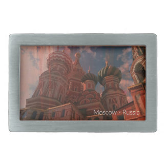 Moscow_russia Belt Buckle