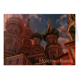 Moscow_russia Card