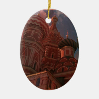 Moscow_russia Ceramic Ornament