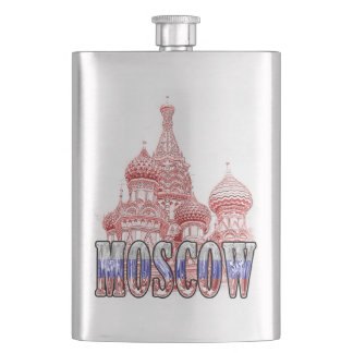 Moscow Russia Lucid Classic Flask