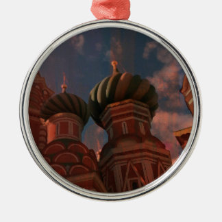 Moscow_russia Metal Ornament