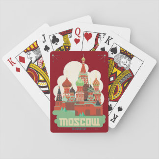 Moscow Russia Poker Deck