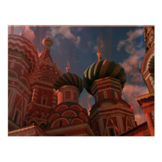 Moscow_russia Postcard