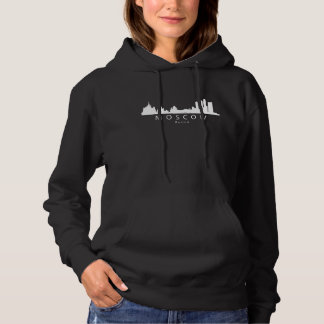 Moscow Russia Skyline Hoodie