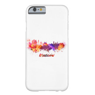 Moscow skyline in watercolor barely there iPhone 6 case