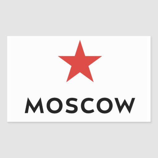 Moscow Travel Luggage Sticker