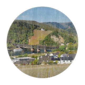 Moselle bridge with Bullay Cutting Board