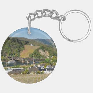 Moselle bridge with Bullay Keychain