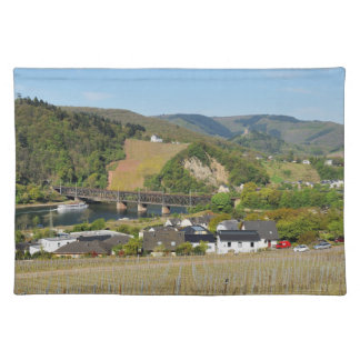 Moselle bridge with Bullay Placemat