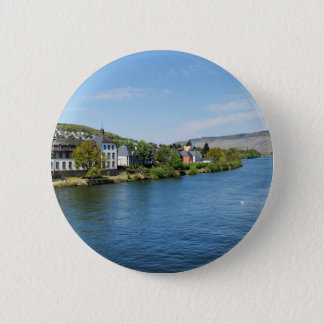 Moselle in Bernkastel Kues 2 Inch Round Button