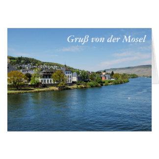 Moselle in Bernkastel Kues Card